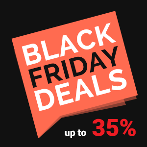 Black Friday Discounts! Save up to 35%!
